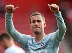 Chelsea star Eden Hazard refutes talk of January move to Real Madrid