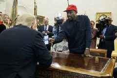 Kanye West Meets With President Trump At The Oval Office