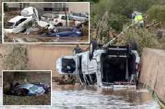 British couple killed in Majorca flash flood were 'on holiday from Moffat'