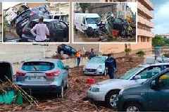 British tourists killed in Majorca flash flood after taxi swept away are named locally