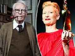 Tilda Swinton reveals SHE was the '82-year-old man' who starred alongside her in new movie