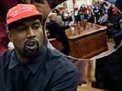 Kanye West's Oval Office rant with Trump