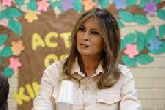 Melania Trump Shrugs Off Husband's Alleged Affairs: 'I Have Much More Important Things to Think About' (Video)