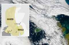 Storm Callum sweeps in with strong winds and heavy rain hitting Scotland