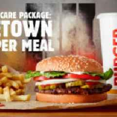 BURGER KING® Restaurants Partners with DoorDash and Activision to Provide Fans with Ultimate Care Package