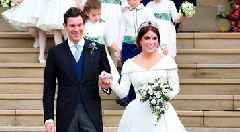 Eugenie marries in a ceremony fit for a princess