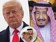 Trump to raise case of missing journalist 'murdered then dismembered for criticizing Saudi Arabia'