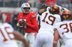 Dwayne Haskins uncorks a beautiful 41-yard TD pass in Ohio State's back-and-forth tilt with Minnesota