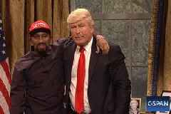 'SNL': Alec Baldwin's Trump Returns to Have Lunch With Kanye – 'He's Black Me!' (Video)