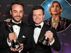 National Television Awards 2019 longlist: Ant & Dec and Jodie Whittaker lead nominations