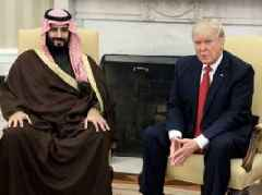 Oil is rallying after Trump threatens 'severe punishment' against Saudi Arabia if it is found to have been involved in the disappearance of journalist Jamal Khashoggi