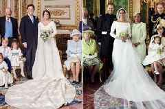 'Sad' difference between Eugenie and Harry's wedding photos revealed by body language expert