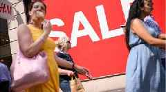 UK retail sales in steepest drop since March