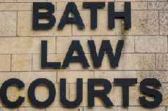 Bath dad punched former partner in the face and threatened her with a bat
