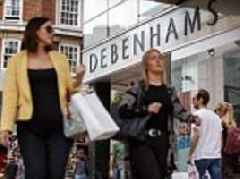A third of Debenhams stores at risk of closure
