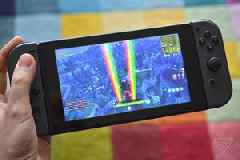 Fortnite has been installed on 'nearly half' of all Nintendo Switch systems