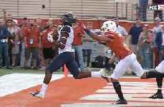 Will Grier s preposterous clutch TD pass puts No.13 West Virginia in  position to take down No. 17 Texas 089002915