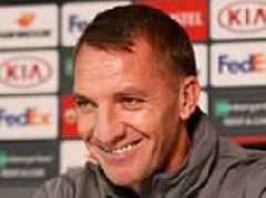 Brendan Rodgers excited by Celtic's 'must-win' game with RB Leipzig after turnaround in form