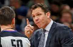 Chris Broussard says Lakers' coach Luke Walton could be fired with poor results from the upcoming stretch