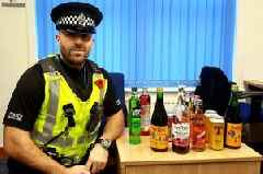 Stewartry cops confiscate booze from kids during school holidays