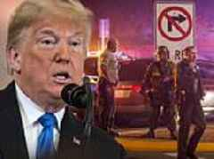 Trump praises 'great bravery shown by police' in California mass-shooting