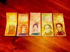 Venezuela's Annual Inflation Rate Hits 830,000 Percent
