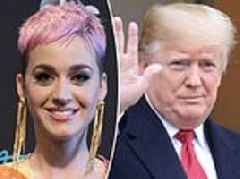 Katy Perry SLAMS Trump California wildfire tweet condemning state 'so poor' forest managerment