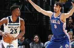 Wolves dealing Butler to 76ers for Saric, Covington