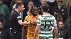 Livingston 0-0 Celtic: Dolly Menga deserved red card, says Brendan Rodgers