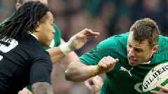 Ireland v New Zealand: All Blacks will be fired up by England victory says Tommy Bowe