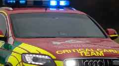 Man suffers head injuries after crash in Loughor