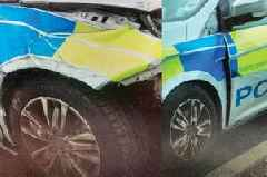 Clapped-out cop car scandal as Police Scotland 'use old bangers patched up with second-hand parts'