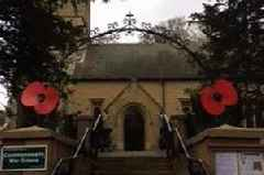 A 'despicable' thief stole poppy money from Crockham Hill Church during the Remembrance Day service