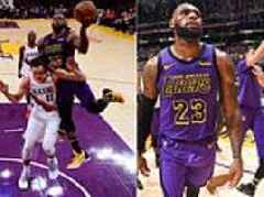 LeBron James nets 44 points to help Lakers topple Trail Blazers