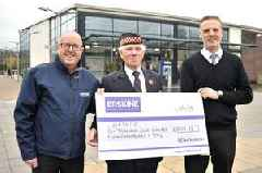 Alexandria piper helps boost Erskine charity funds by £6000