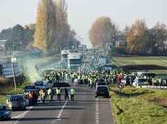 One dead and 47 injured in fuel tax protests in France