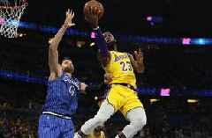 Nikola Vucevic's 36 points helps Magic roll past Lakers 130-117