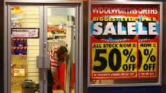 What has happened to Woolworths' stores 10 years after closure?