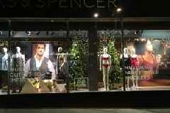 Marks and Spencer slammed for 'vomit-inducing' window display claiming women must-have 'fancy little knickers'