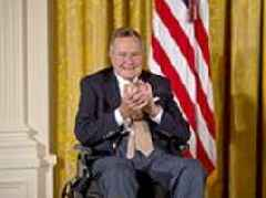 George H.W. Bush will have state funeral, White House says, President Trump and Melania will attend