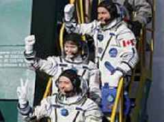 Russia prepares to send humans back into space