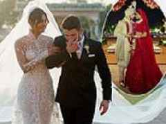 Priyanka Chopra and Nick Jonas release first official wedding photos