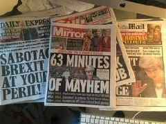 Brexit and the tabloids agree – Theresa May wins!