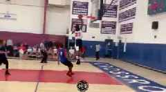 Watch: LeBron James Jr. Rocks Dad's No. 23, Throws Down Dunk in First Game in Los Angeles