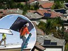 California officially becomes first state in US to require new homes to be powered by solar energy