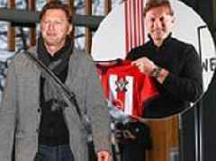 New Southampton boss Ralph Hasenhuttl arrives for first day on the job