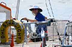 Falmouth sailor Susie Goodall gets knocked out after yacht capsizes in the Pacific
