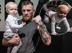 'Great work tonight, junior!' Conor McGregor's son follows in his father's footsteps in the gym
