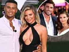 Dani Dyer and Jack Fincham's split means only THREE of the 10 Love Island couples are together