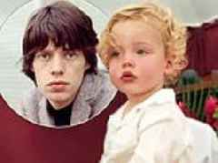 Mick Jagger's son Deveraux, 2, is the SPITTING IMAGE of the Rolling Stones rocker in sweet snap